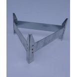 AGROFORTEL Tubusové krmítko pozinkované - 18 kg - nožičky