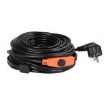 Topný kabel s termostatem 3-13 °C 230 V PG 06, 6 metrů