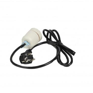 Objímka AGROFORTEL OB2 pro keramické žárovky s přívodním kabelem