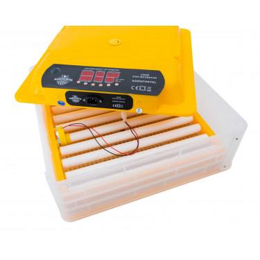 NOVÝ MODEL - Automatická líheň s regulací vlhkosti WQ-60 pro 60 vajec. S prosvětlovačkou. DÁREK ZDARMA