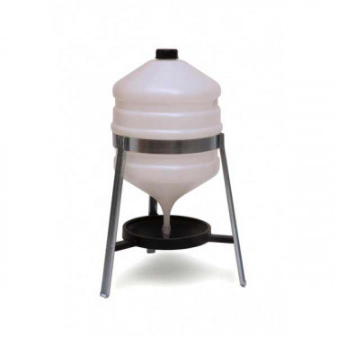 AGROFORTEL Sifonová napáječka pro drůbež - objem 30 litrů