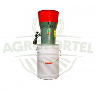 AGROFORTEL Elektrický šrotovník na obilí AGF-25 | 1,0 kW, 25 litrů