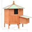 Dřevěný kurník MALLORCA, 1260x1170x1250 mm