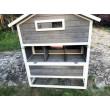 Dřevěný akční kurník PEKING, 1860 x 960 x 1170 mm
