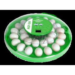Plně Automatická digitální líheň S30. Pro 30 vajec.