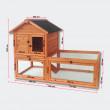 Dřevěná králíkárna nebo kurník OSTRAVA, 1420x650x1000mm