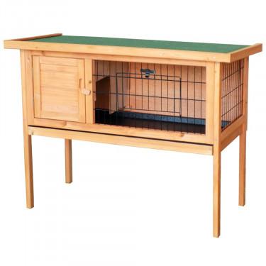 Dřevěná králíkárna MNICHOV, 915x450x700 mm