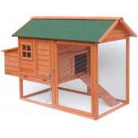 Dřevěný kurník MILÁNO, 1710x800x1100 mm