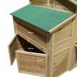 Dřevěný kurník BRATISLAVA, 1970x1000x1130 mm