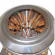 Bubnová škubačka na drůbež BRM1800 - kuřata, kachny, husy, krůty - do 15 kg