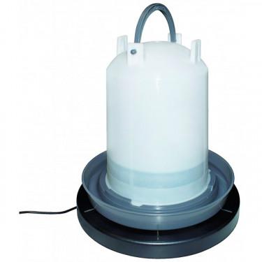 Topná vyhřívací deska pod napáječku - průměr až 25 cm