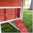 Dřevěný kurník MILÁNO RED, 1710x800x1100 mm