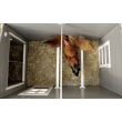 Ekoplastový kurník a husník MINSK, 1370x730x830 mm