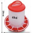 Krmítko pro drůbež tubusové - 9 kg