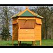 Dřevěný kurník POZNAŇ, 1250x1250x800mm
