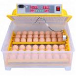 Automatická digitální líheň WQ-48 s dolíhní a vlhkoměrem. Pro 48 vajec.