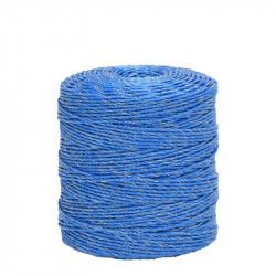 Lanko pro elektrický ohradník, průměr 3 mm, modré