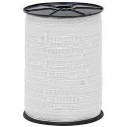 Páska pro elektrický ohradník, průměr 20 mm, bílá