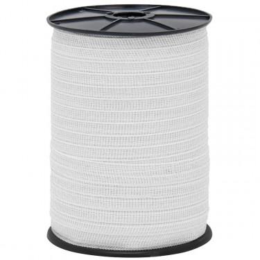 Páska pro elektrický ohradník, průměr 20 mm, 200 m, bílá