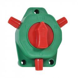 Přepínač ohrazení plastový pro elektrický ohradník